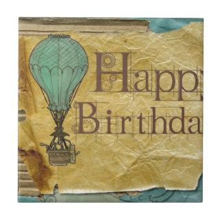 Happy-Birthday Ceramic Tile