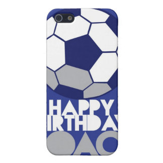 Happy Birthday COACH with soccer ball iPhone 5/5S Cases
