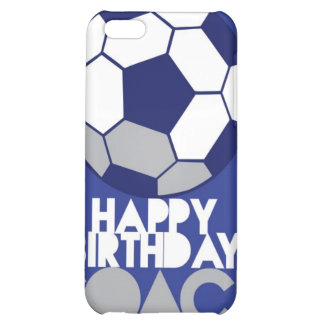 Happy Birthday COACH with soccer ball iPhone 5C Cases