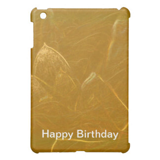 Happy Birthday Copper Sheet : Lotus Engraved Case For The iPad Mini