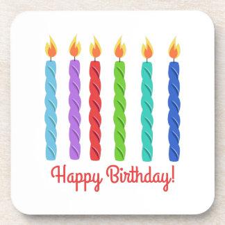 Happy Birthday Beverage Coasters