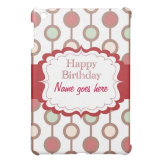 Happy Birthday Cover For The iPad Mini