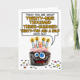 Funny 80th Birthday Invitations Stationery