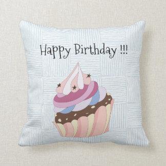 Happy Birthday Cupcake Cushion