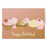 Happy Birthday Cupcakes Cards