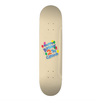 Happy Birthday Custom Skateboard