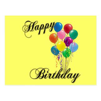 Happy Birthday - Customize Postcard