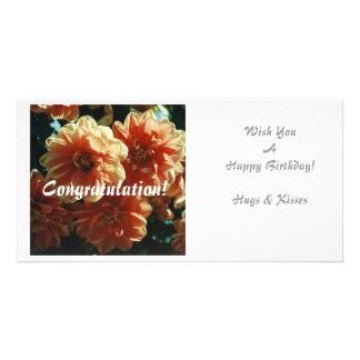Happy Birthday! Customized Photo Card