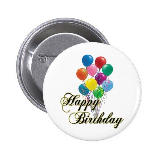 Happy Birthday - D4 Button