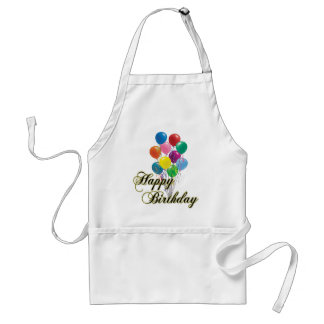 Happy Birthday - D4 Cooking Apron