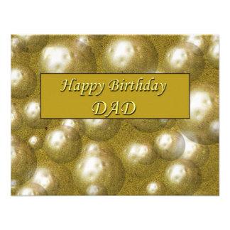 Happy Birthday DAD Announcement