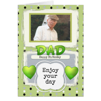 Happy Birthday Dad Photo Card