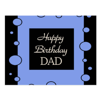 Happy Birthday DAD Postcard