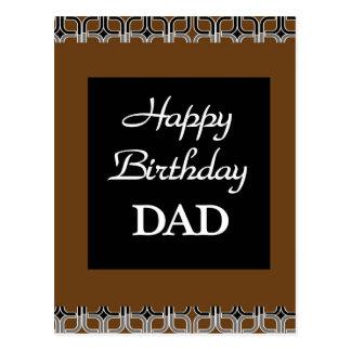 Happy Birthday DAD Postcard