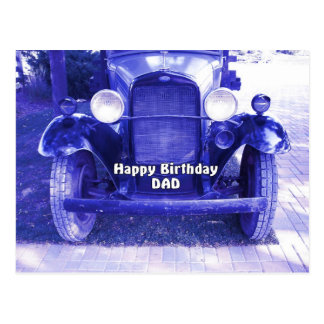 Happy Birthday DAD Post Cards