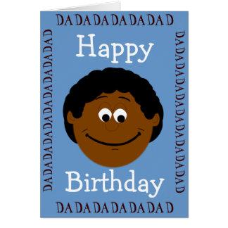 Happy Birthday Dad (Son) Greeting Card