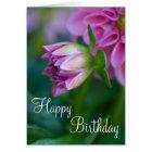 Happy Birthday Dahlia Card