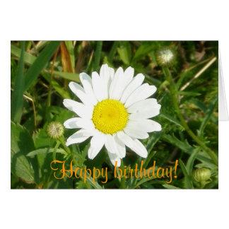 Happy Birthday! Daisy Card