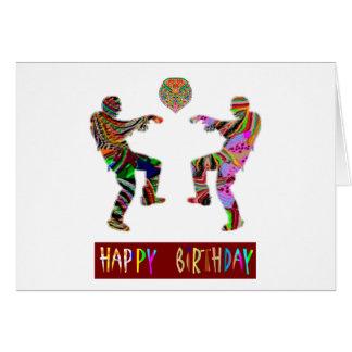 Happy Birthday Dance Greeting Card