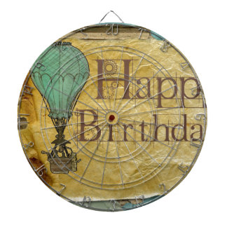 Happy-Birthday Dart Board