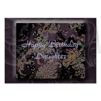 Happy Birthday Daughter Greeting Card