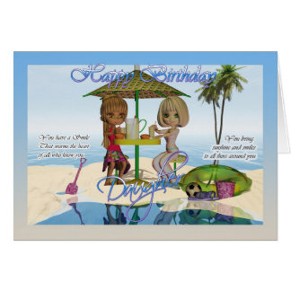 Happy Birthday Daughter Moonies Cutie Pie Beach Co Greeting Card