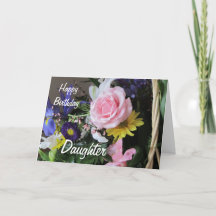 Birthday Verse For Daughter Cards, Birthday Verse For D
