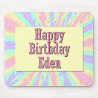 Happy Birthday Eden Mouse Mat