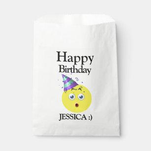 Happy Birthday Emoji Favour Bag