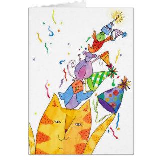 happy Birthday everyone Card
