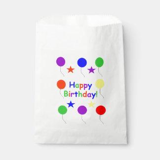 Happy Birthday! Favor Bag
