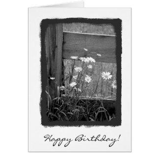 Happy Birthday Fence Greeting Card