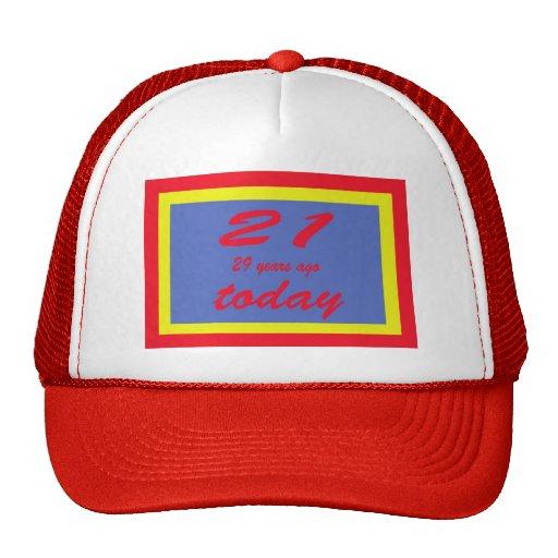 Happy birthday fifty 50th hat