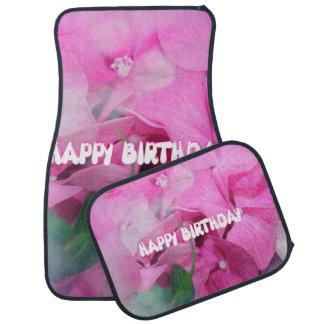 happy birthday floor mat