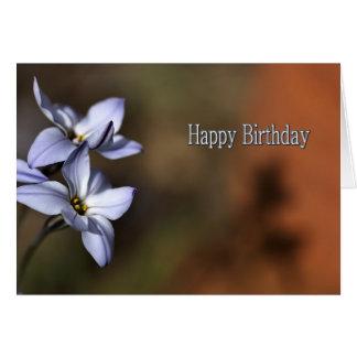 Happy Birthday -  Flowers in bloom Card