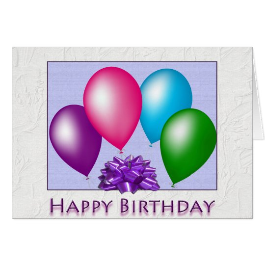 Happy Birthday From All Of Us Card