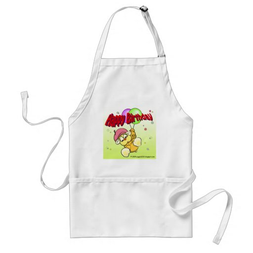 Happy Birthday from giggleCubby Apron