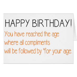 Happy Birthday - Funny Design - Card Card
