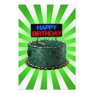 Happy Birthday Geek Photograph