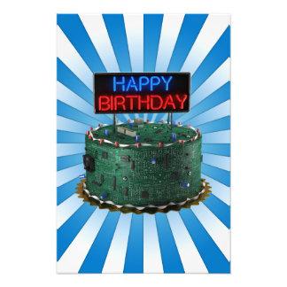 Happy Birthday Geek Photo Art