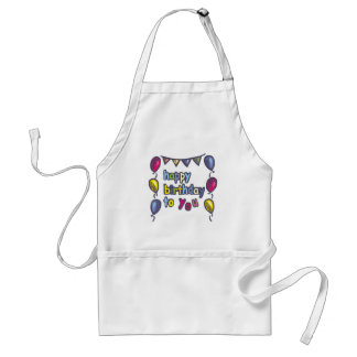 Happy Birthday Gifts Apron