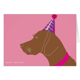 Happy Birthday Girl Card
