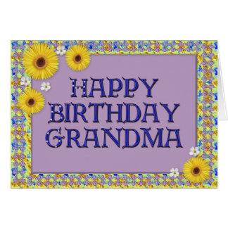 Happy Birthday Grandma Card