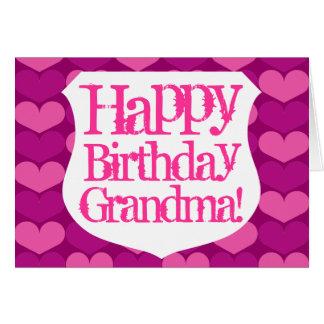 Happy Birthday Grandma greeting card