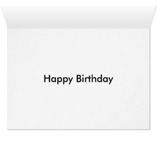 Happy birthday graveyard card