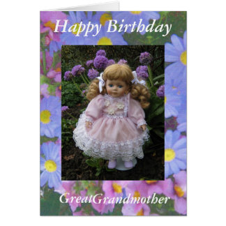Happy Birthday great grandmother Card