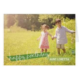Photo birthday greeting cards from Zazzle