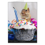 Happy Birthday Greeting Card, blank