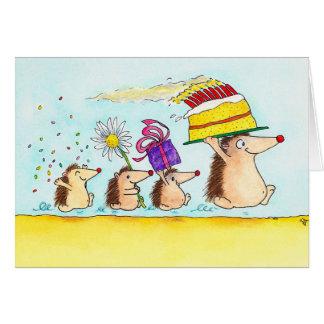Happy Birthday greeting card by Nicole Janes