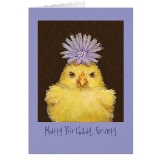 Happy Birthday Grumpy card